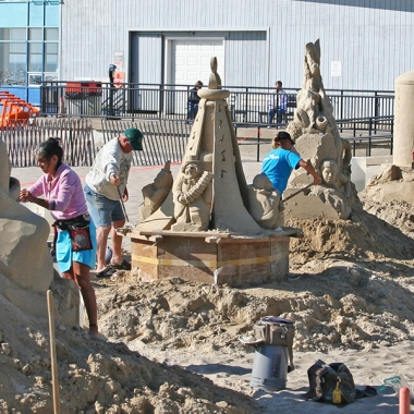 Hampton Beach Sandsculpting Contest