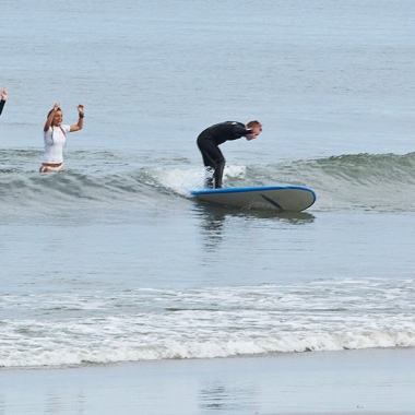 Surfing with Smiles, Hampton NH. Surfing lessons for kids with Autism.