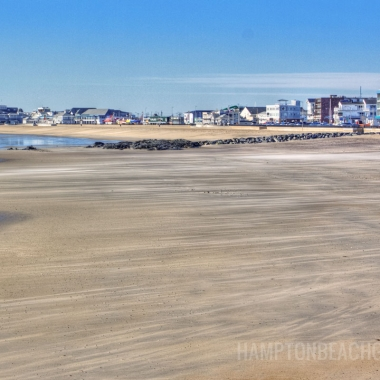 Beautiful Beach at Hampton NH