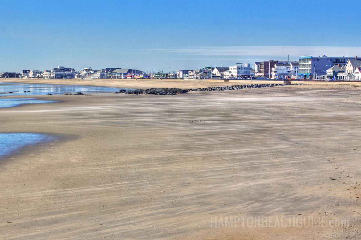 Beautiful Beach at Hampton NH