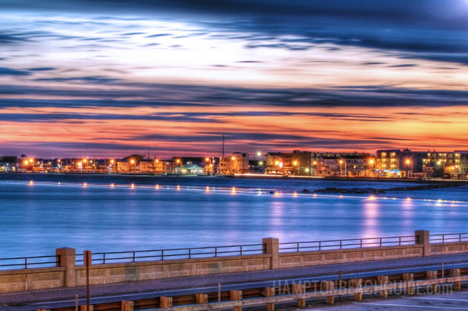 Hampton Beach Sunset