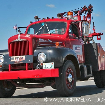 Hampton Beach Tow Truck Parade