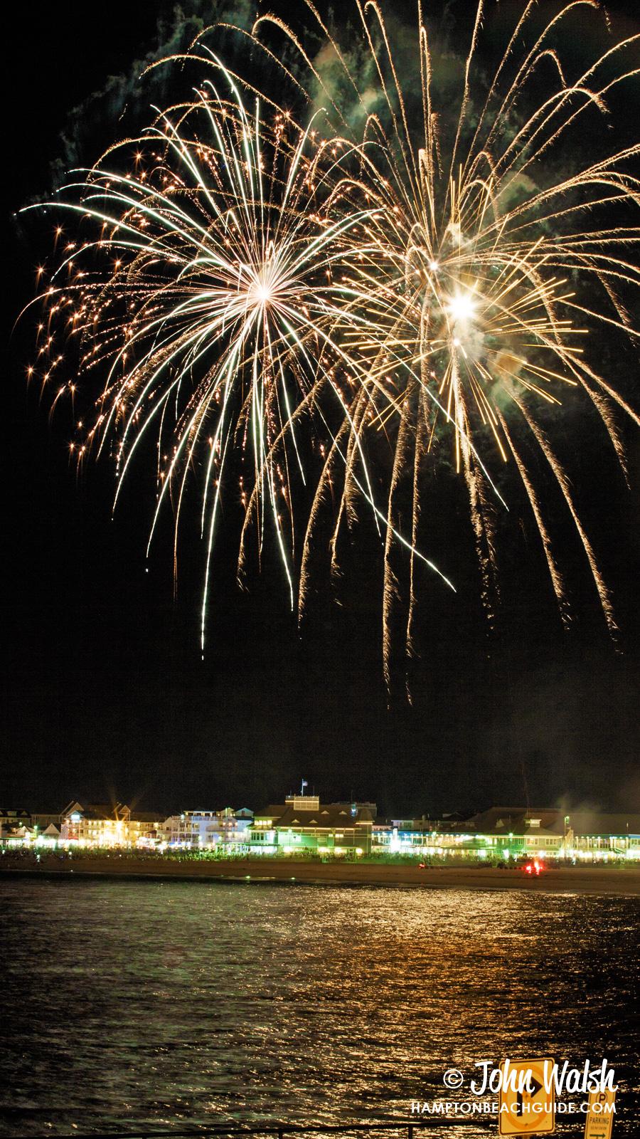 Wednesday Night Fireworks Hampton Beach Entertainment